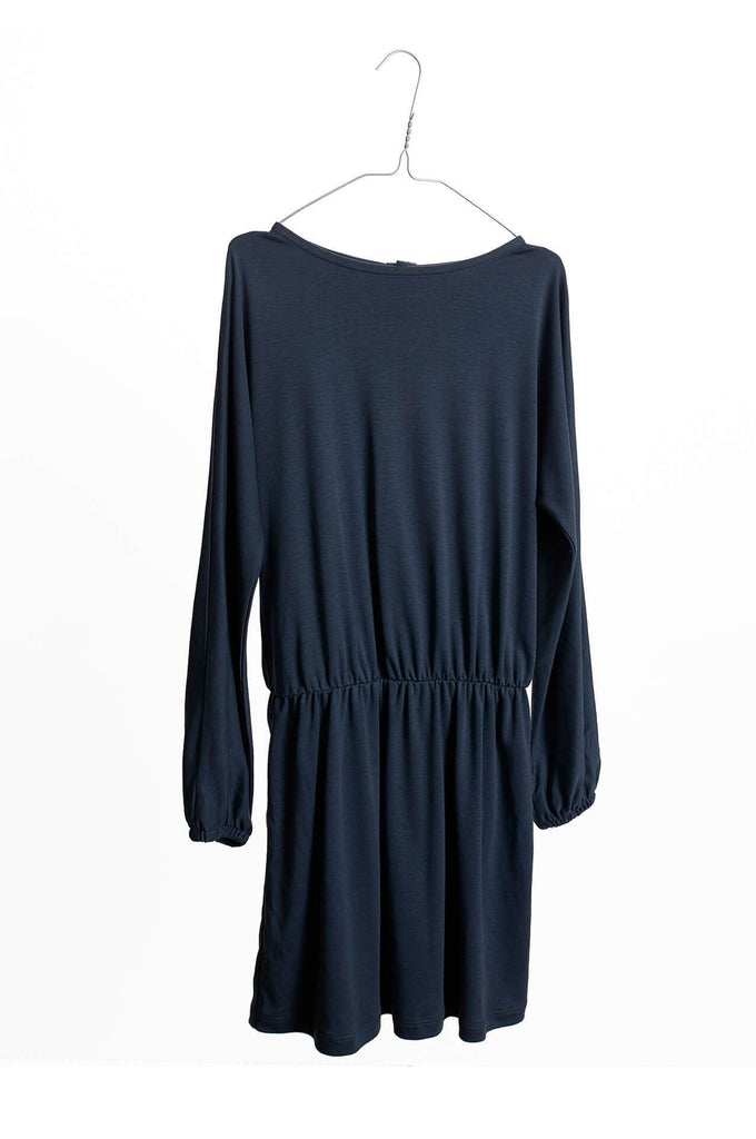 Solid Dress Autumn Night Blue Repose AMS