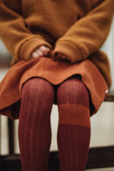 TIGHTS WARM BERRY