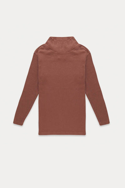 TURTLE NECK DUSTY CORAL Repose AMS
