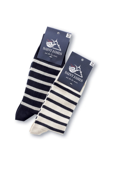 Pieds Rayes Socks Saint James