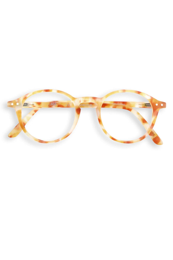 see concept   Screen Glasses #D Yellow Tortoise