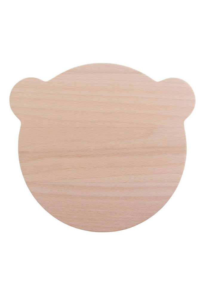 Bear wooden breadboard