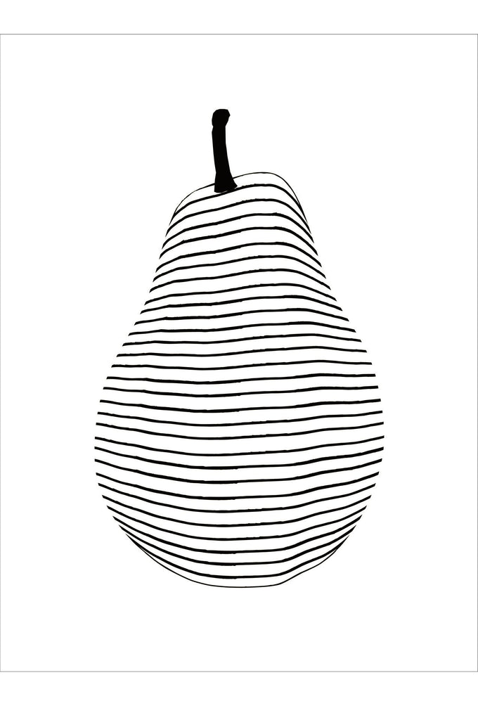 Tea towel pear
