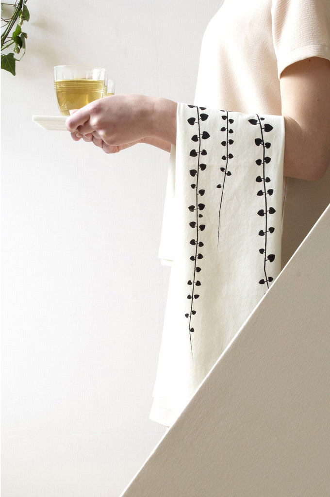 Tea towel vine