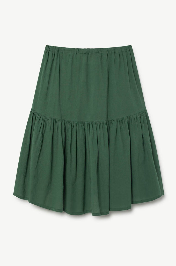 The Animals Observatory Bird Kids Skirt Green Black