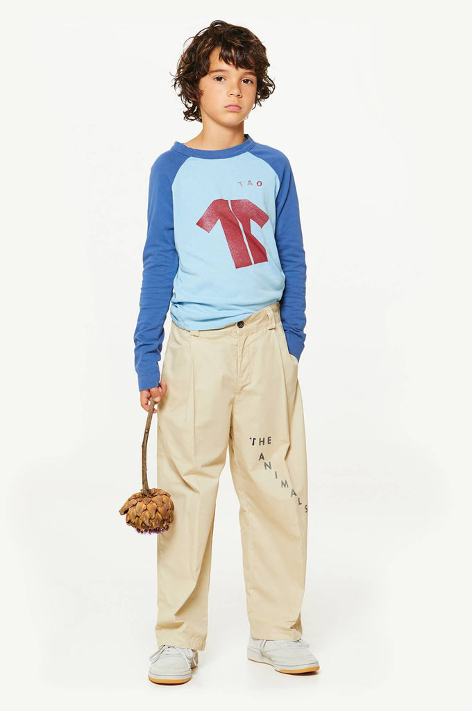 Cricket Kids T-Shirt Blue Maroon The Animals Observatory