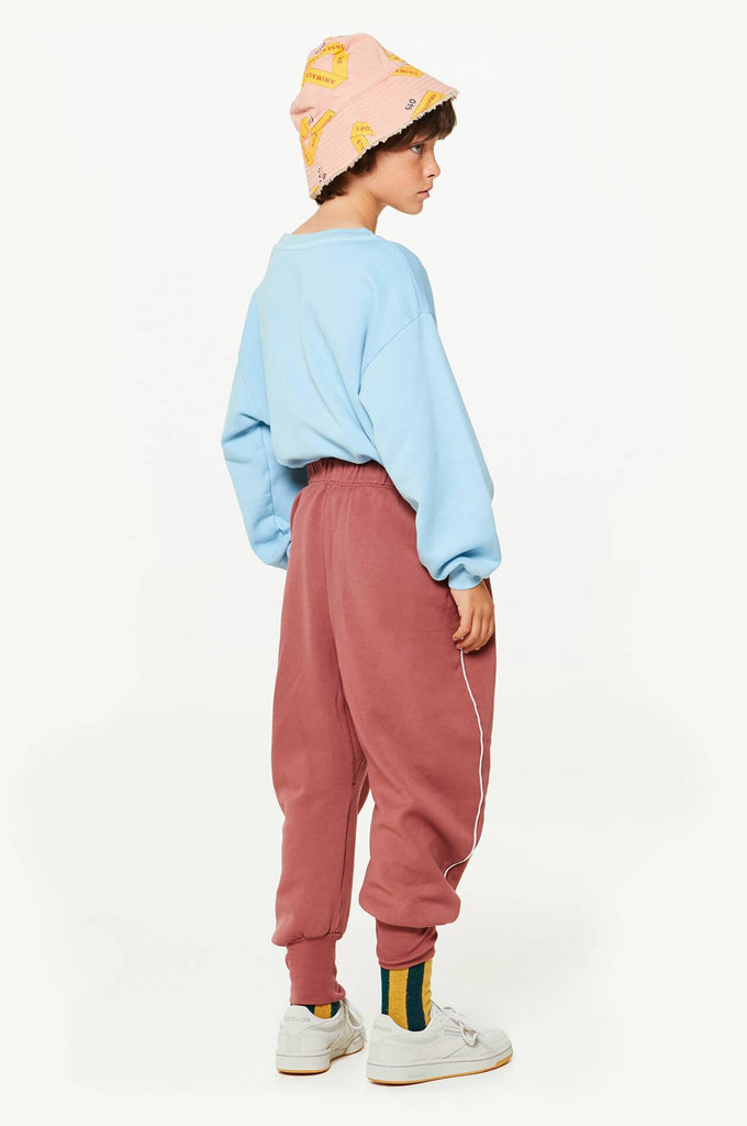 The Animals Observatory Dromedary Kids Pants Maroon