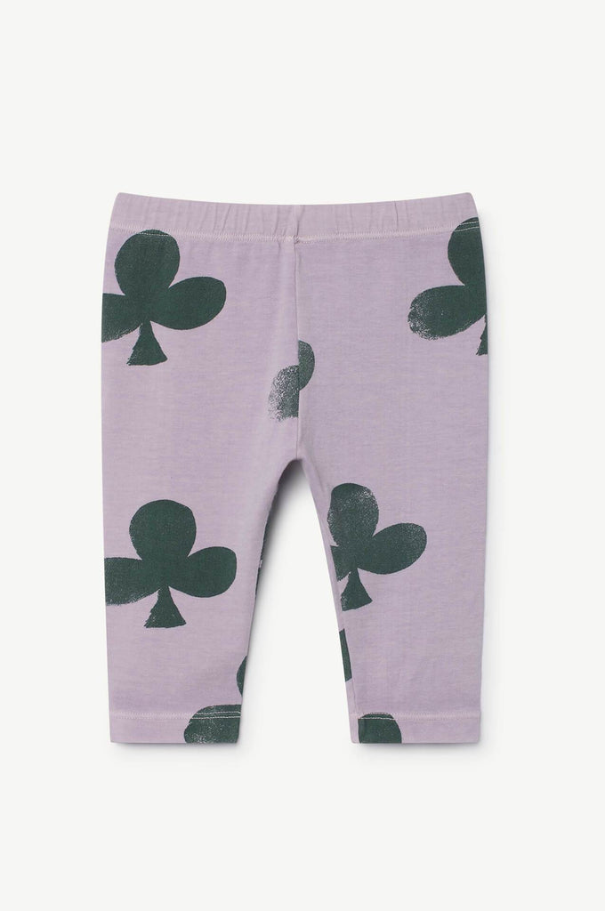 The Animals Observatory Penguin Babies Leggings Purple Clovers