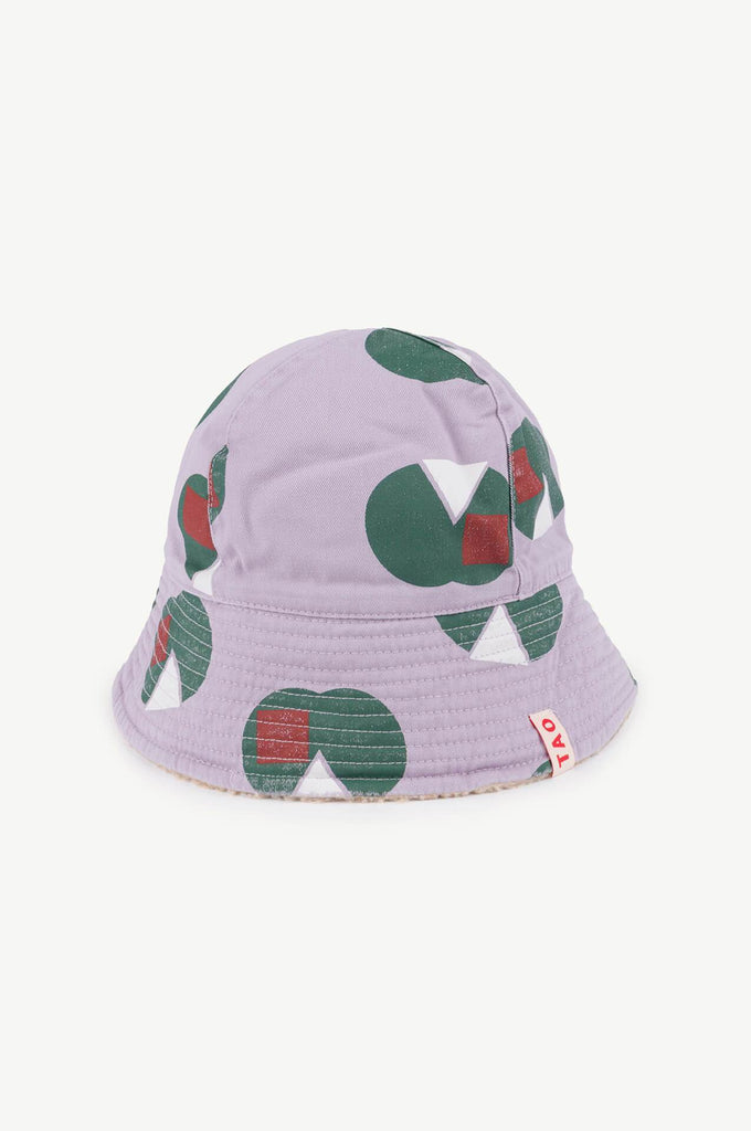 The Animals Observatory Starfish Kids Hat Purple Apples