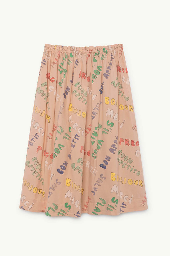 The Animals Observatory Blowfish Skirt Toasted Almond