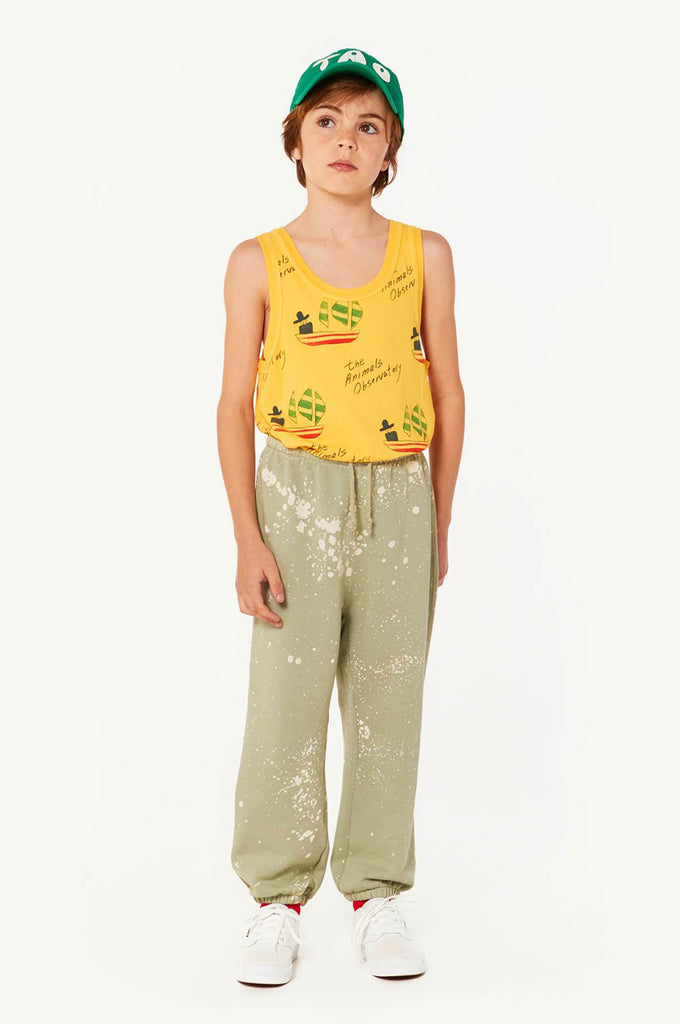 The Animals Observatory Dromedary Pants Green Splashes