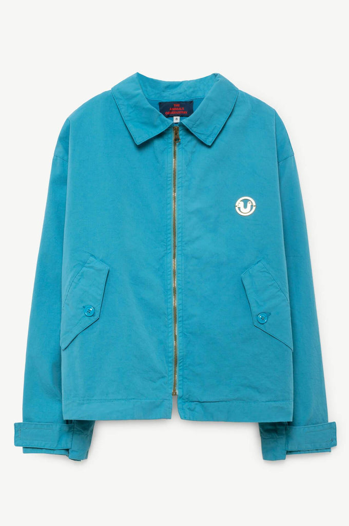The Animals Observatory Falcon Kids Jacket Blue