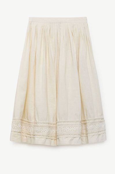 The Animals Observatory Firefly Kids Skirt Raw White