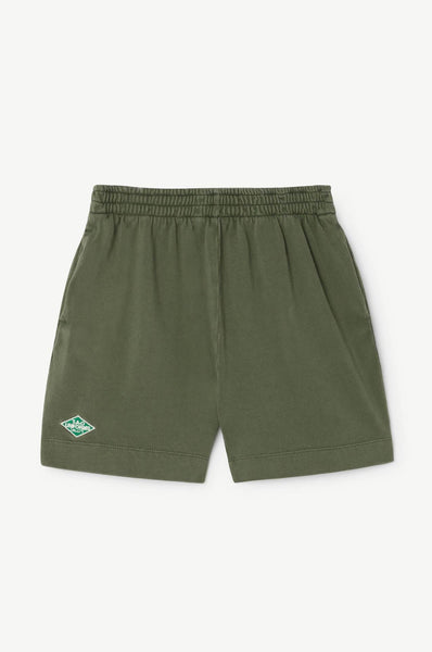 The Animals Observatory Gardener Kids Shorts Military Green TAO Uniforms