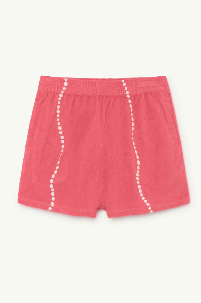 The Animals Observatory Poodle Shorts Red Shells