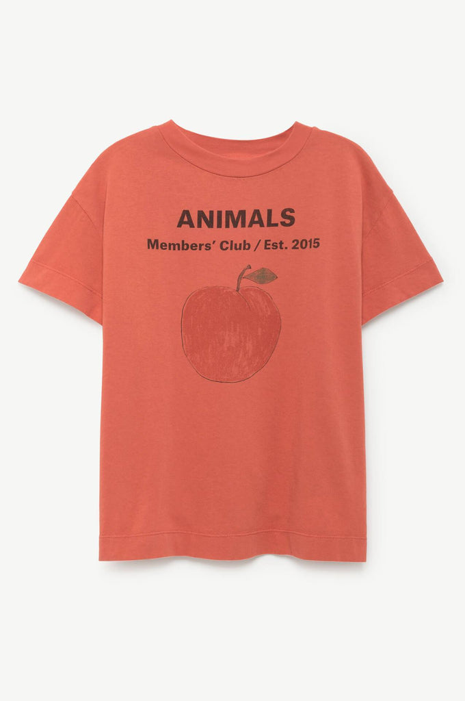 Sale - Rooster Peach Animals T-Shirt - The Animals Observatory The Animals Observatory Free Shipping Buy Wholesale Price Free Shipping FHPQU28BDk