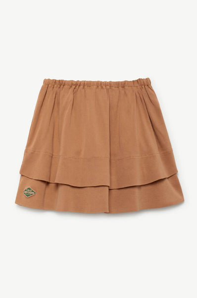 The Animals Observatory Seamstress Kids Skirt Brown TAO Uniforms