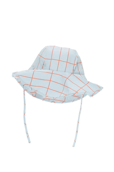 tinycottons  grid sun hat