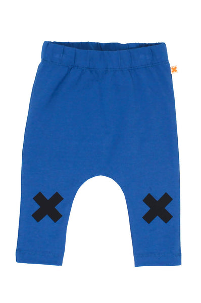 tinycottons  logo pant blue/ navy