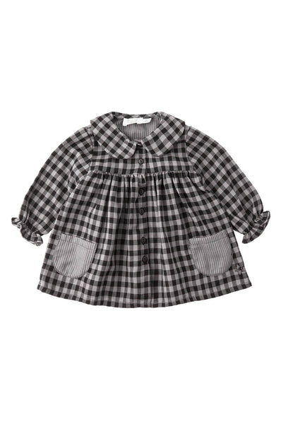 Tocoto Vintage Baby Check Dress