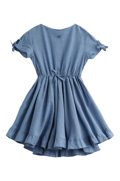 Blue Chambray Dress Tocoto Vintage