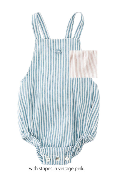 Tocoto Vintage  Striped Body pink
