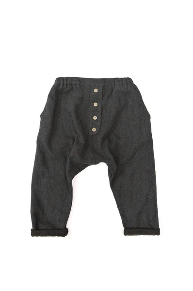 LIRE TROUSERS CHARCOAL MARL