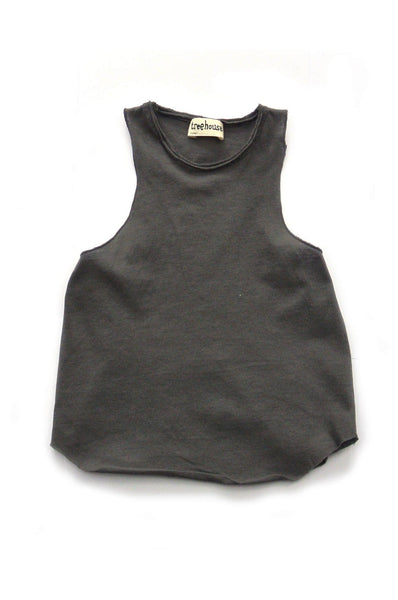 Treehouse Marcel Tank Top Charcoal
