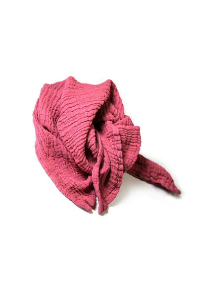 Muslin Scarf Small - Pure Berry