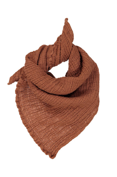 Muslin Scarf Small - Native Copper