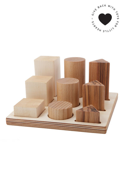 Shape sorter board