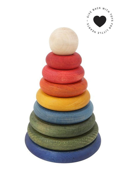 Rainbow stacker round
