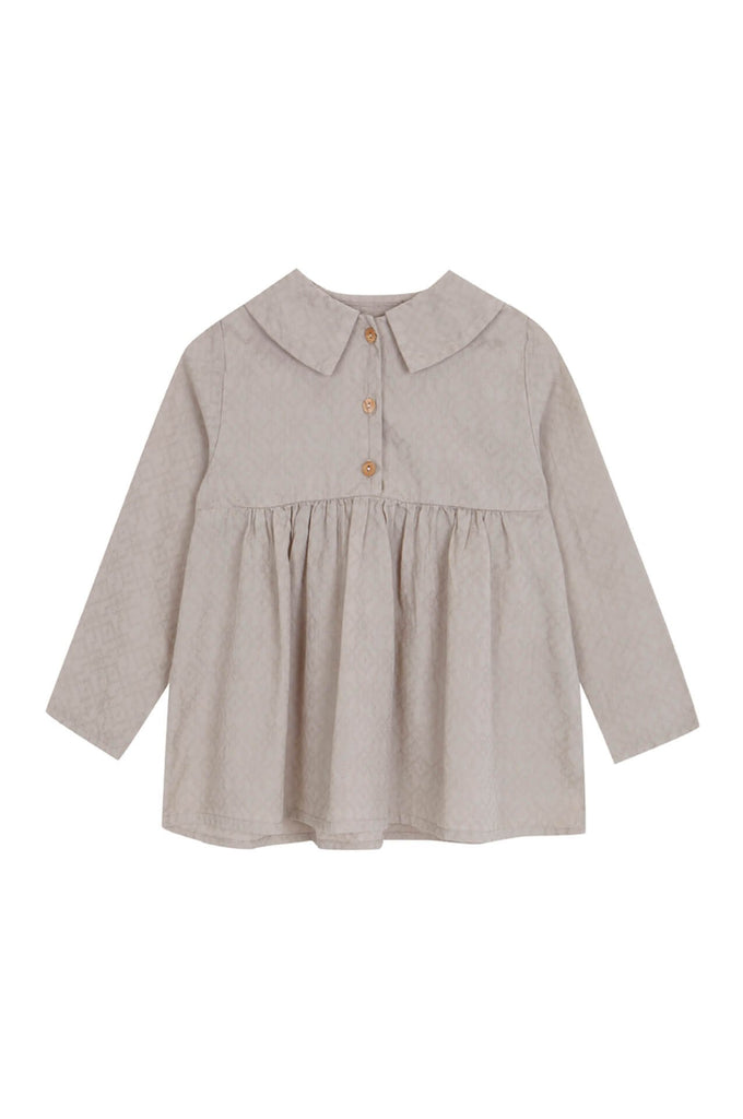 Yellowpelota  Button Collar Blouse
