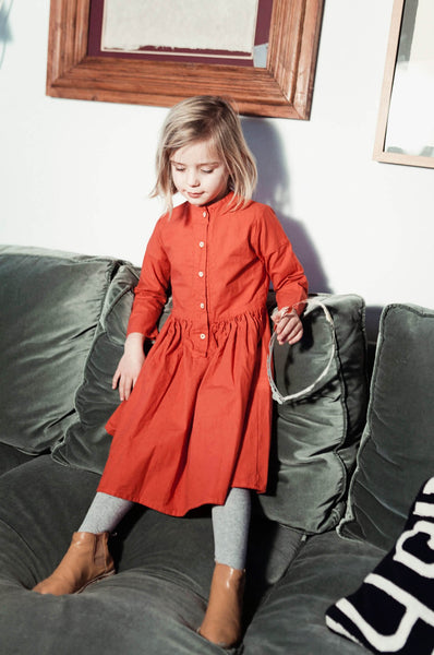 Yellowpelota  Far West Dress Antique Rouge