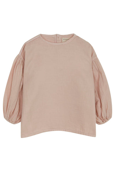 Yellowpelota Ballon Blouse Pink Grey