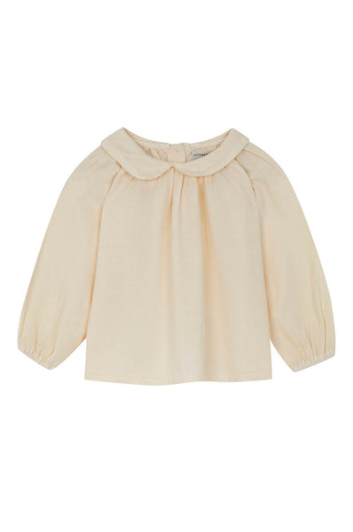 Yellowpelota Collar Blouse Natural