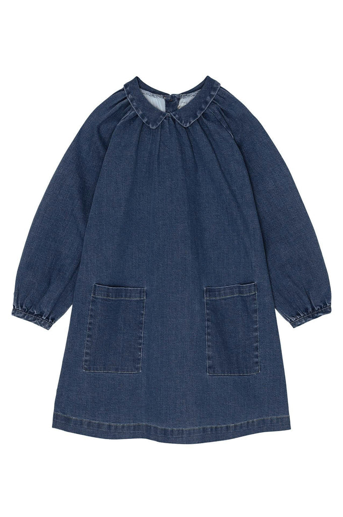 Yellowpelota Pocket Dress Original Denim