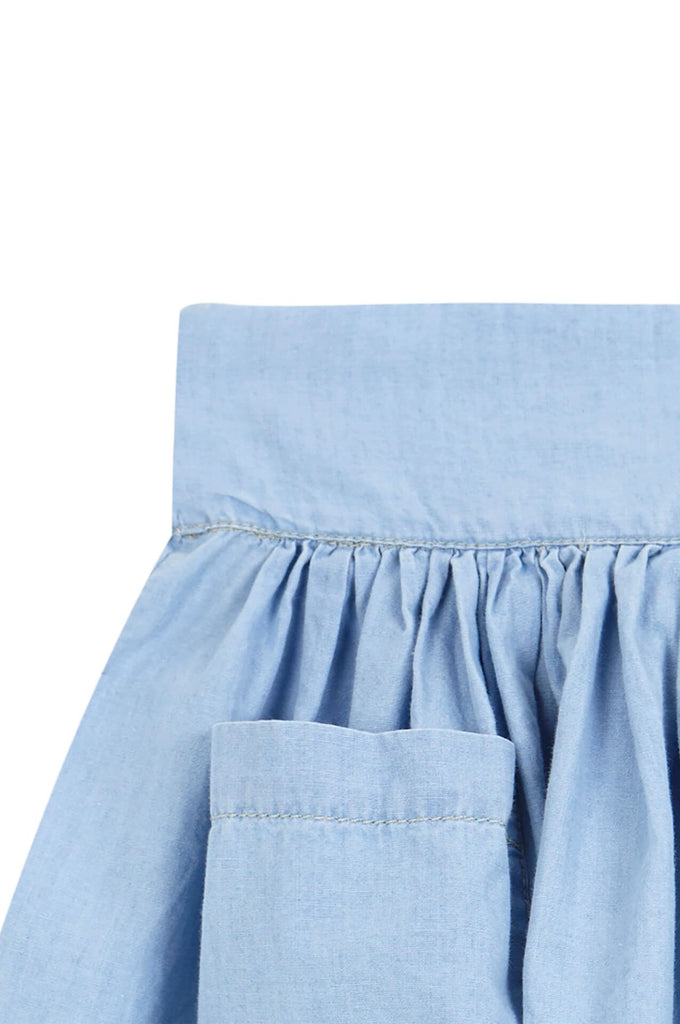 Yellowpelota  Denim Skirt Washed denim
