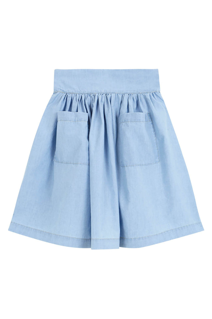 Yellowpelota  Skirt washed denim