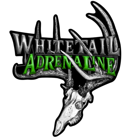 "14"" Whitetail Adrenaline Rack Decal"