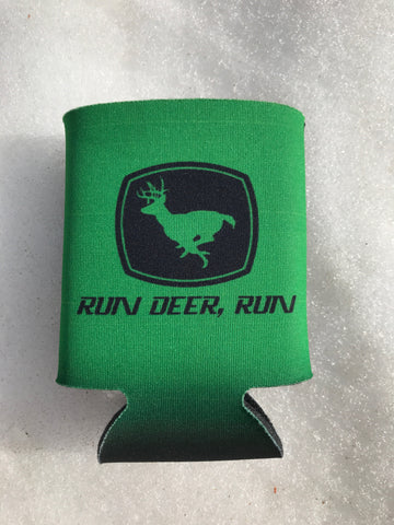 """Run Deer, Run"" Can Koozie"
