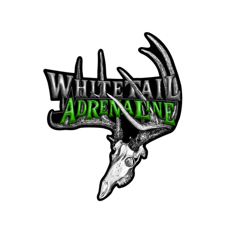 "9"" Whitetail Adrenaline Rack Decal"