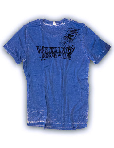 Men's Blue Wash Out | Black Sketch