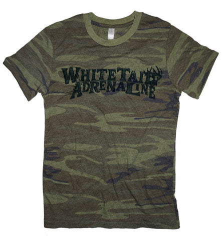 Weathered Heather Camo Tee | Black Sketch