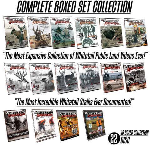 Whitetail Adrenaline Complete Video Set | Seasons 1-12