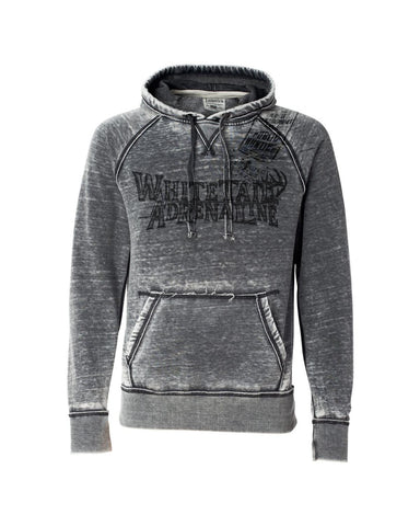 Smoke Burnout Hoodie | Black Sketch