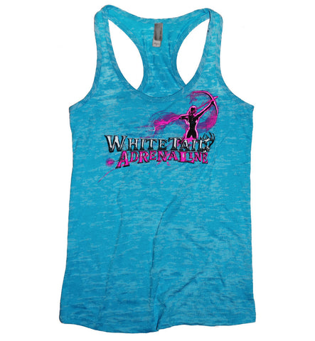 Ladies Tahiti Burnout Tank | Archer