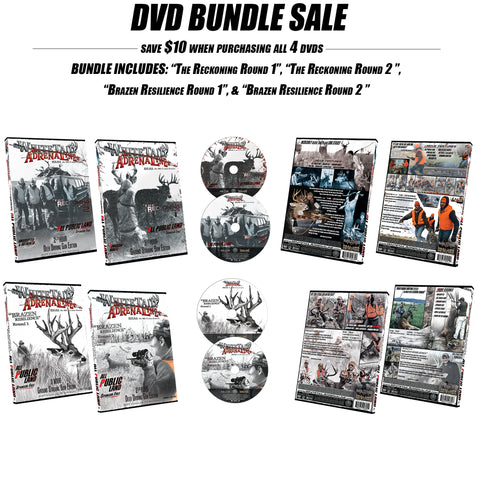 """The Reckoning"" Round 1 & 2 and ""Brazen Resilience"" Round 1 & 2 and DVD Bundle"