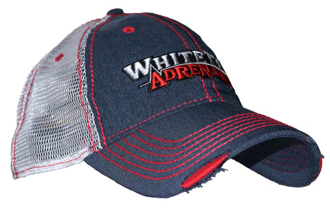 Red, White and Blue Mesh Cap