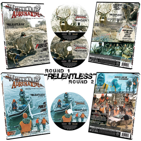 """RELENTLESS"" ROUND 1 & 2 DVD Combo Pack 
